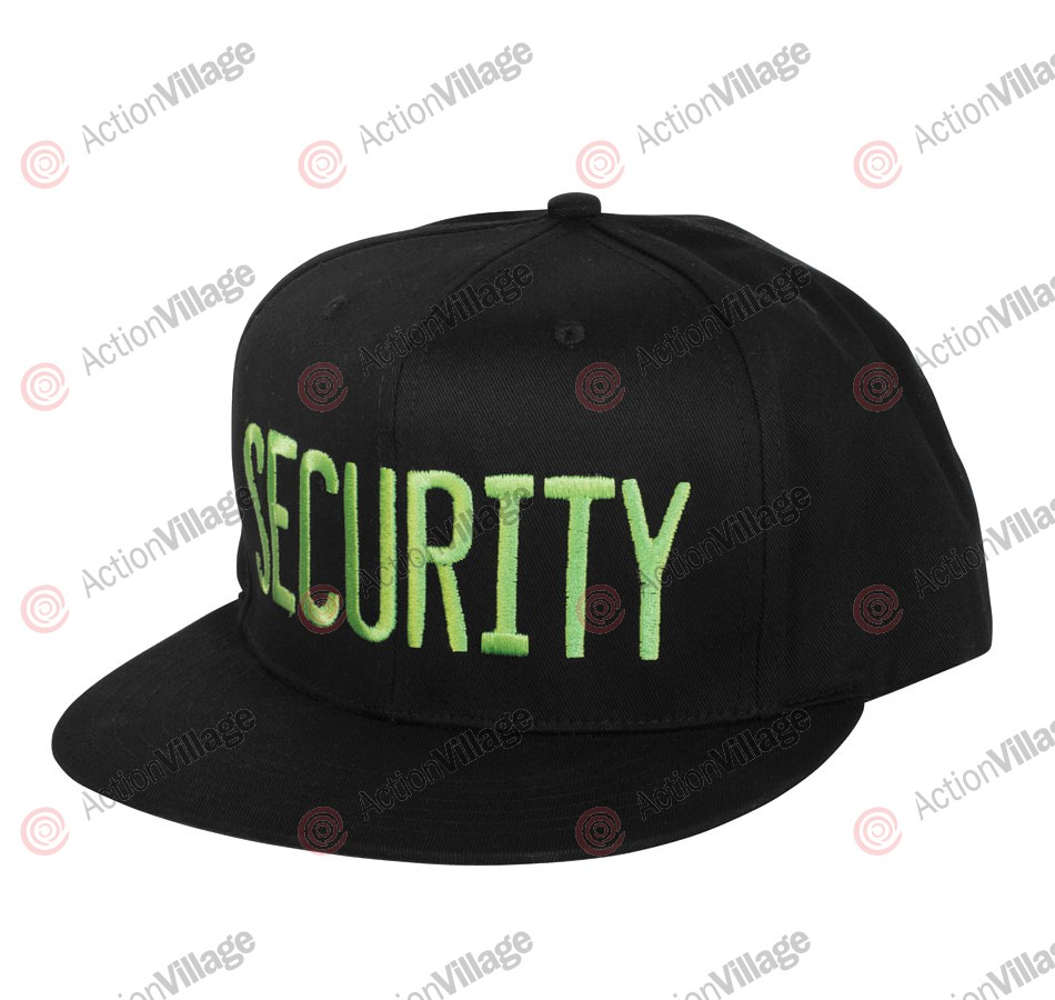 Creature Security Adjustable Twill Hat - One Size Fits All - Black
