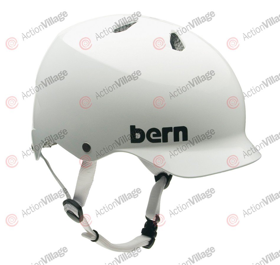 Bern Watts Thin Shell CPSC - Gloss White - Helmet