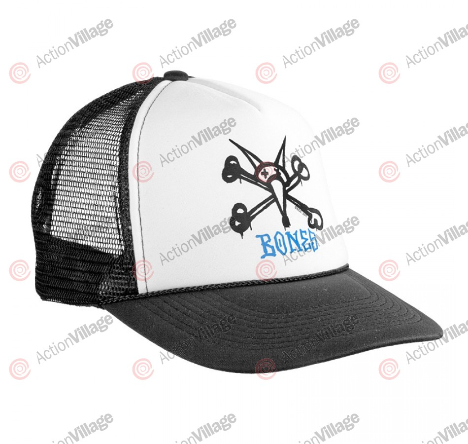 Powell Vato Rat Trucker Cap - Black/White - Mens Hat