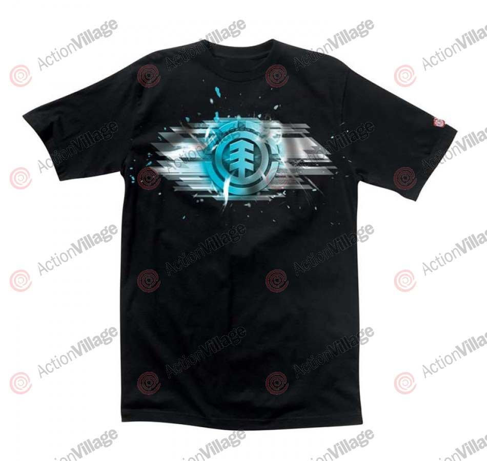 Element Shred - Black - Men's T-Shirt - Medium