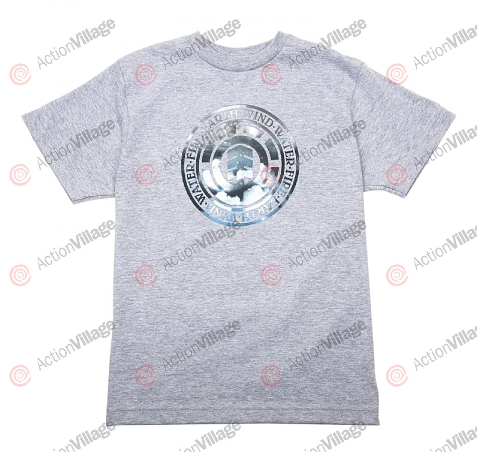 Element Cloudy - Grey - Youth T-Shirt