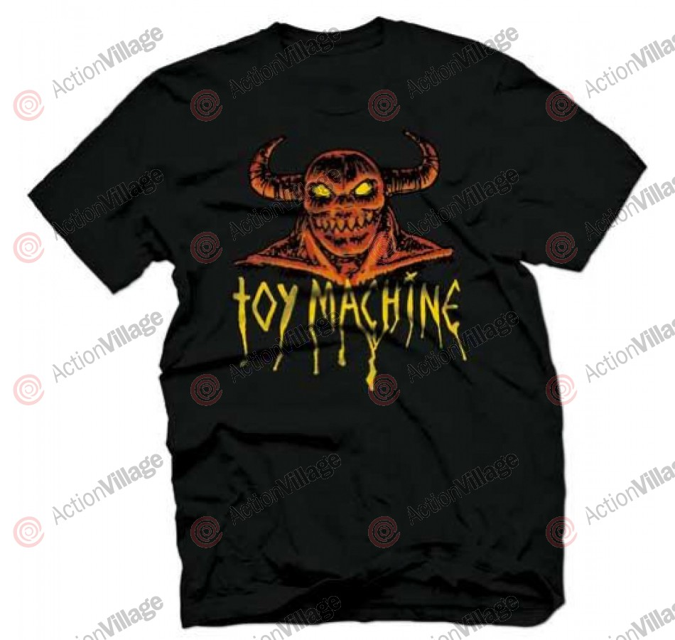 Toy Machine Welcome Monster - Black - Men's T-Shirt