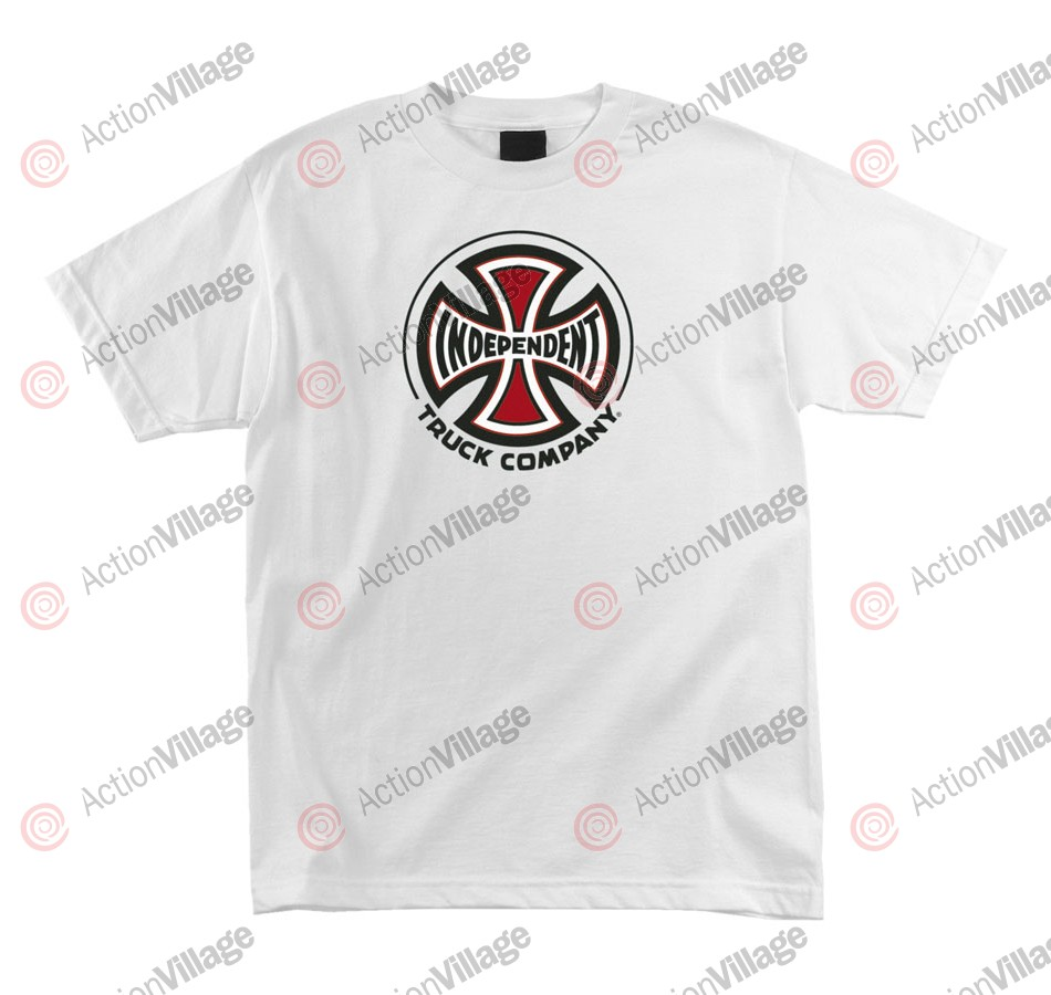 Independent Truck Co Regular S/S - White - Mens T-Shirt