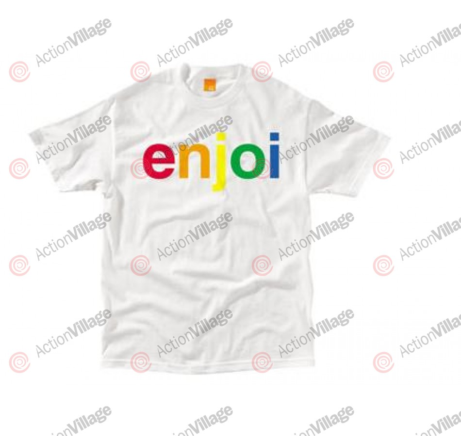 Enjoi Spectrum S/S - White - Mens T-Shirt