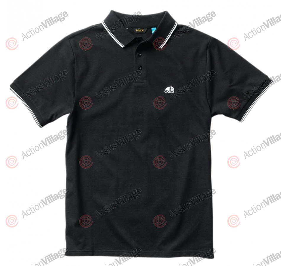 Enjoi Specials S/S Polo - Black - T-Shirt