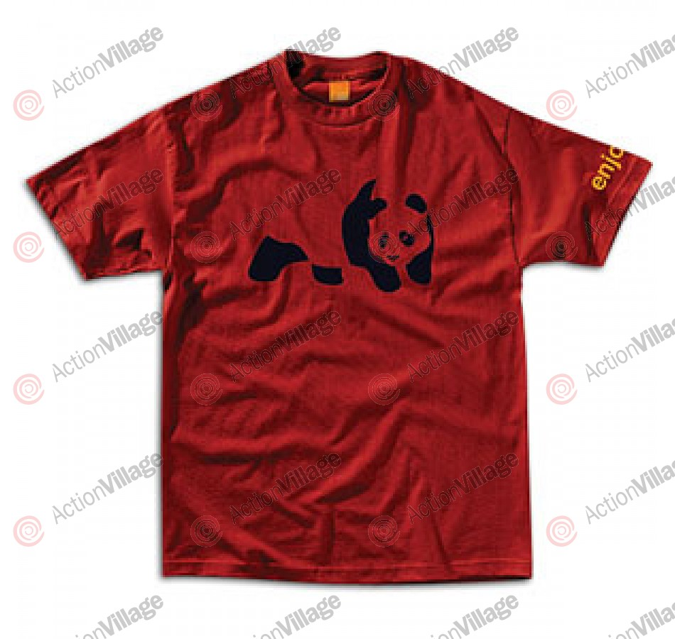 Enjoi Panda S/S - Red - T-Shirt