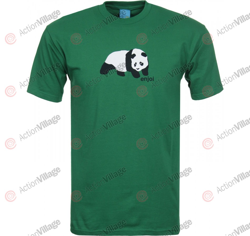 Enjoi Original Panda S/S - Kelly Green - T-Shirt