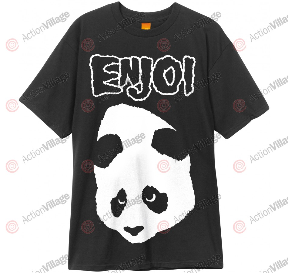 Enjoi Doesn't Fit S/S - Black - T-Shirt