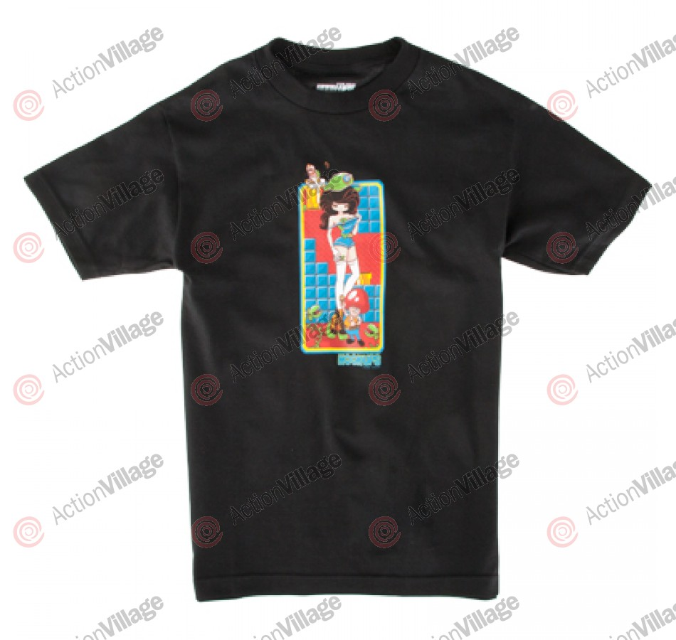 Hook Ups Luigina - Black - Men's T-Shirt
