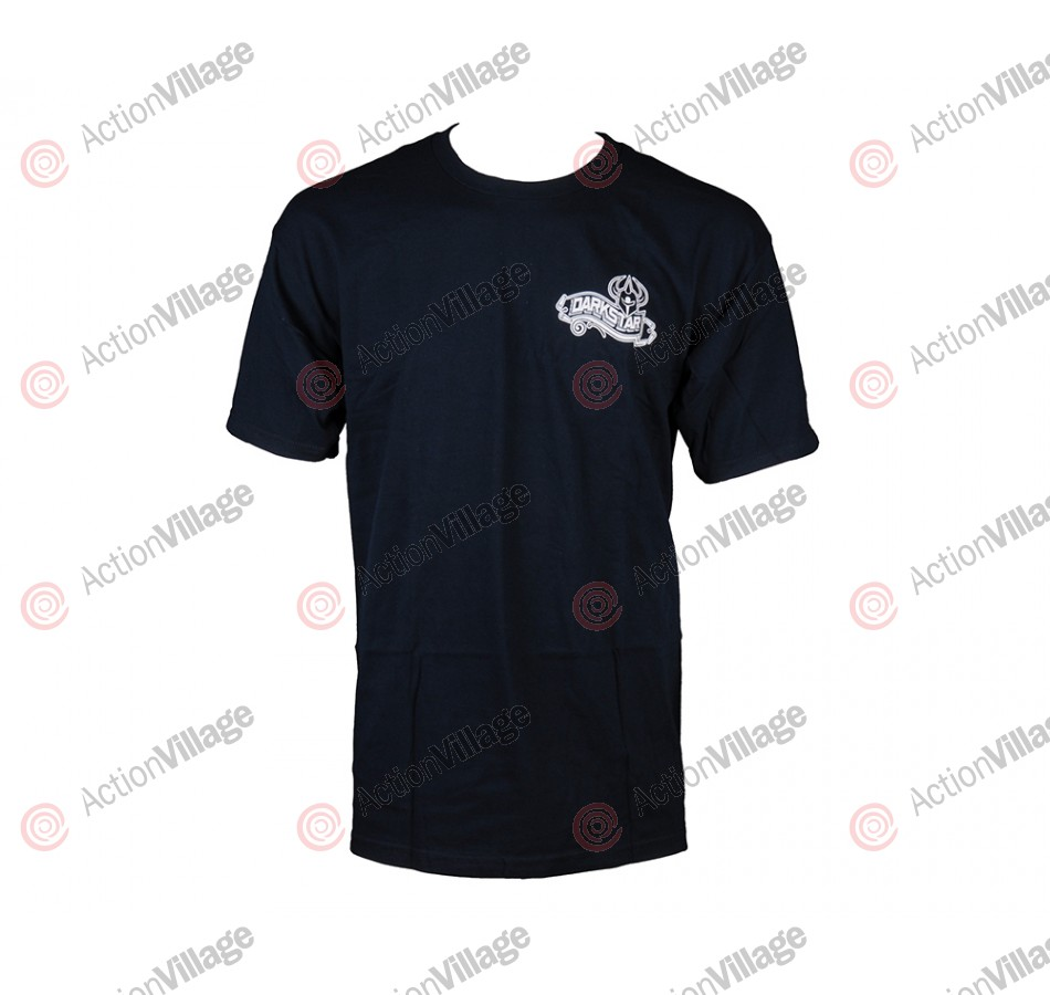 Darkstar Quality S/S Tee - Navy- T-Shirt