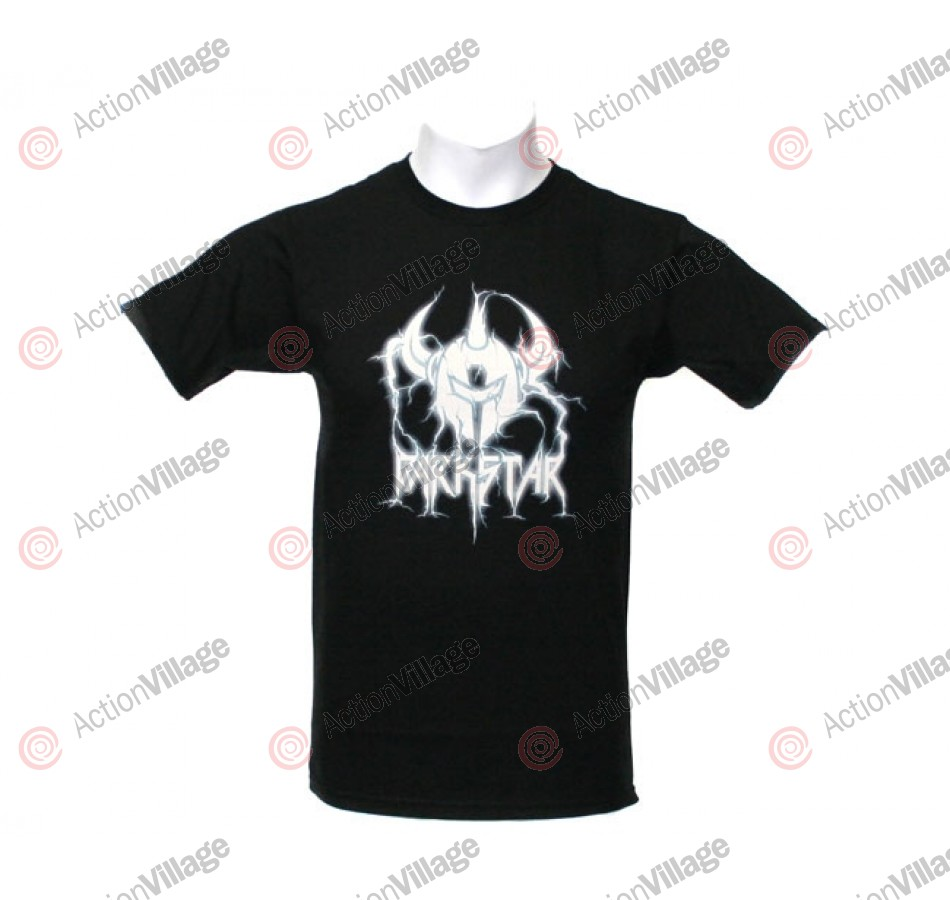 Darkstar Lightning S/S Tee - Black - T-Shirt