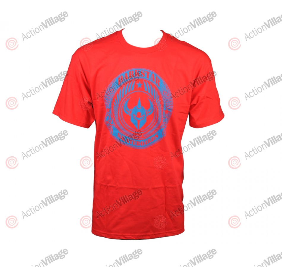Darkstar Revolt S/S Tee - Red - T-Shirt