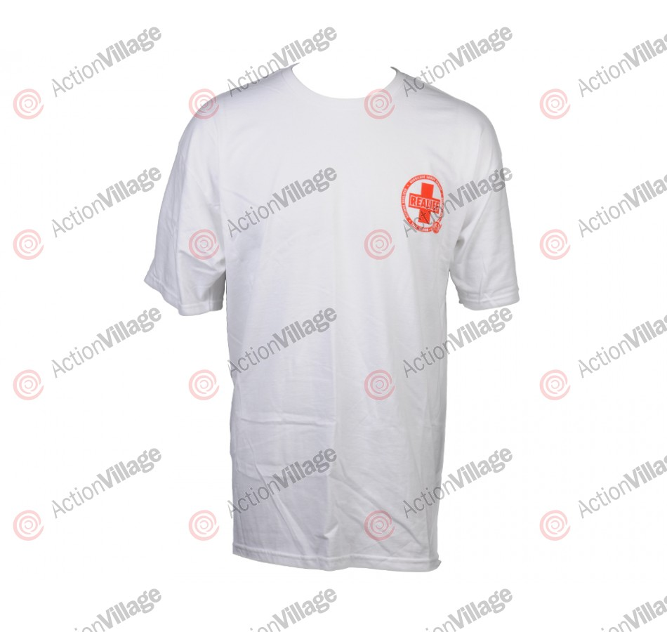 Real AR Sandy - White/Red - T-Shirt