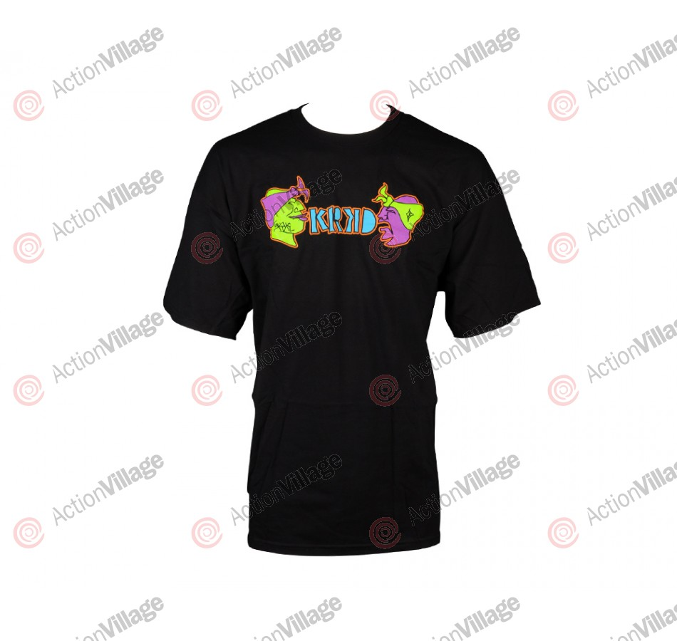 Krooked Yo Krooked Shirt - Black - T-Shirt