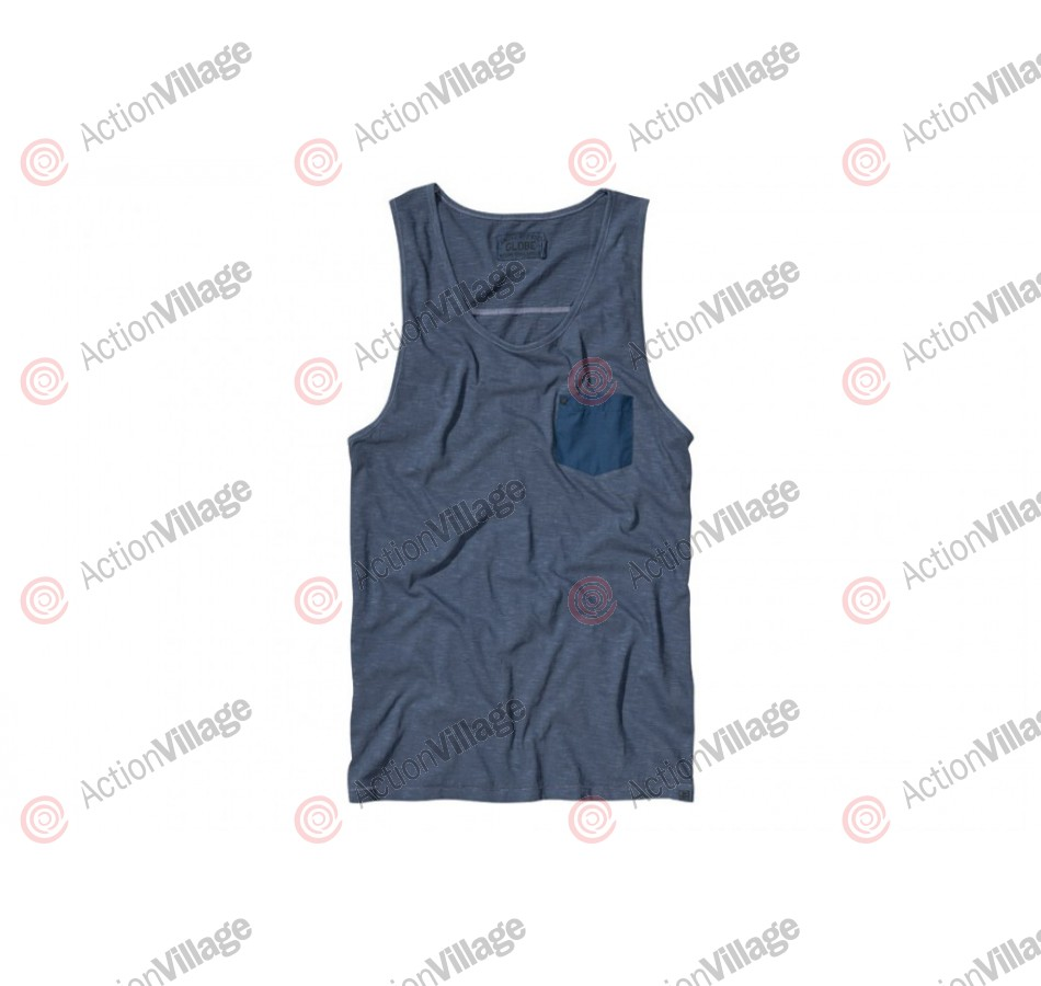 Globe Coda Tank Top - Light Navy - T-Shirt