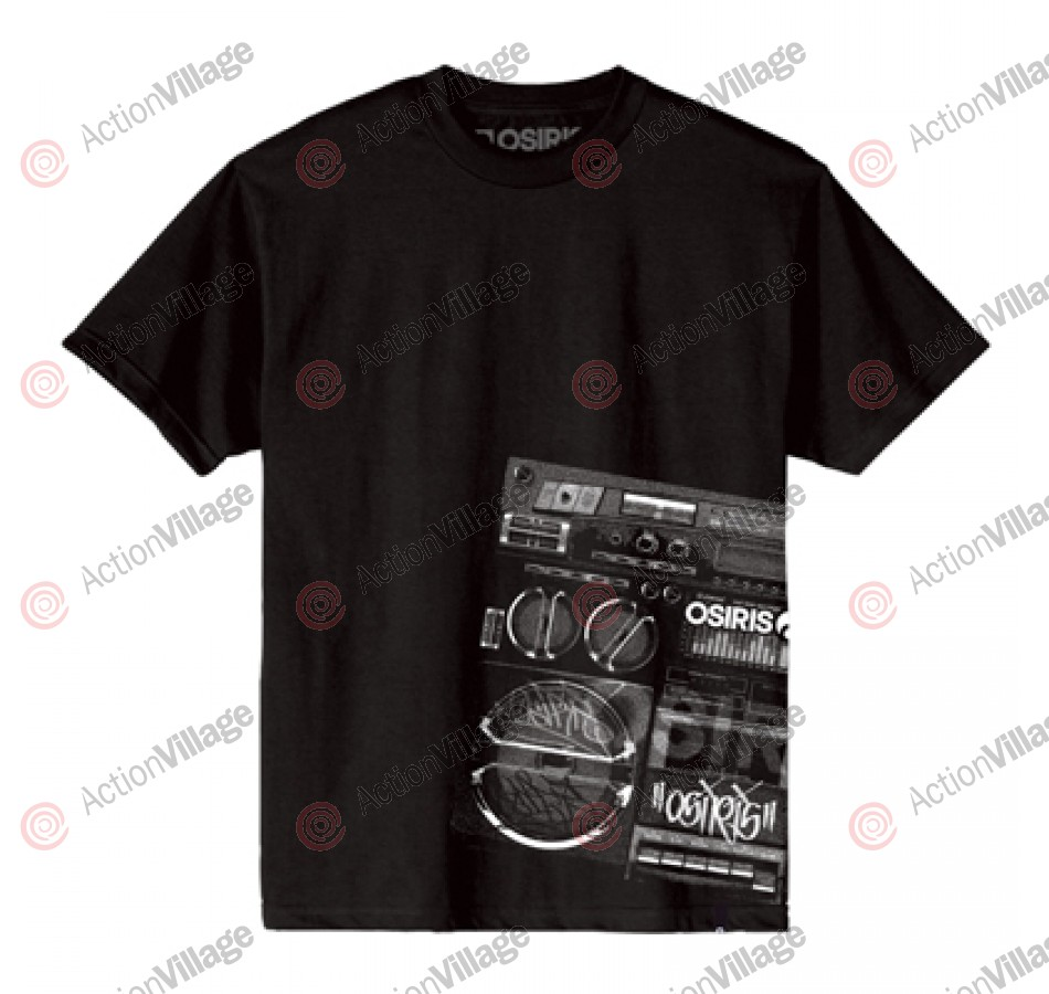 Osiris Boombox - Black - Men's T-Shirt