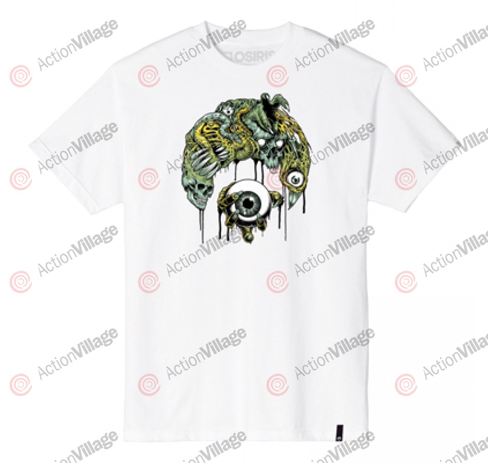 Osiris Eyecon - White - Men's T-Shirt