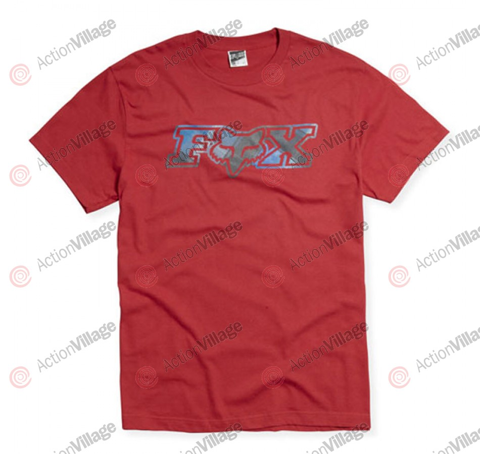Fox Duke Vader - Red - Mens T-Shirt - Small