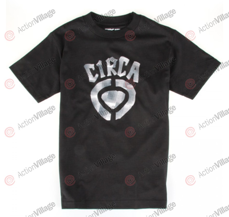 C1RCA Plaid Icon - T-Shirt - Black