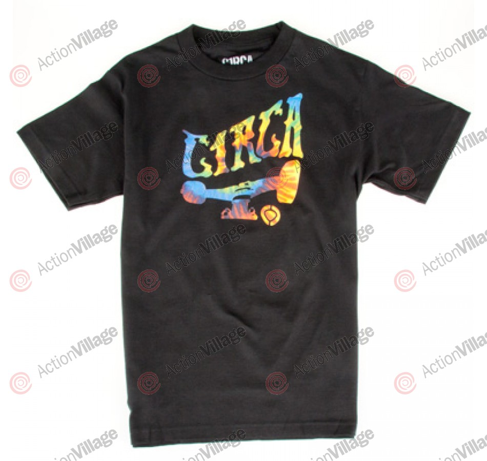 C1RCA  Tye Dye Truck - Men's T-Shirt - Black