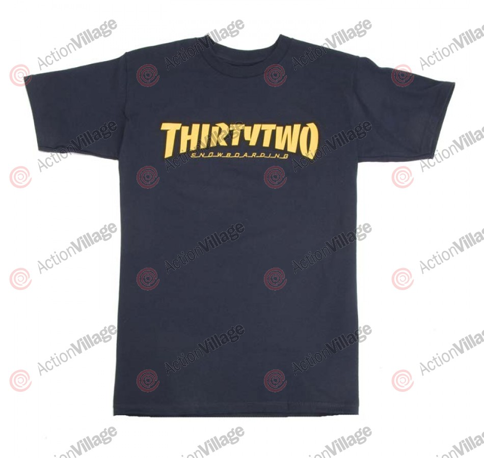 ThirtyTwo Por Vida - Navy T-Shirt