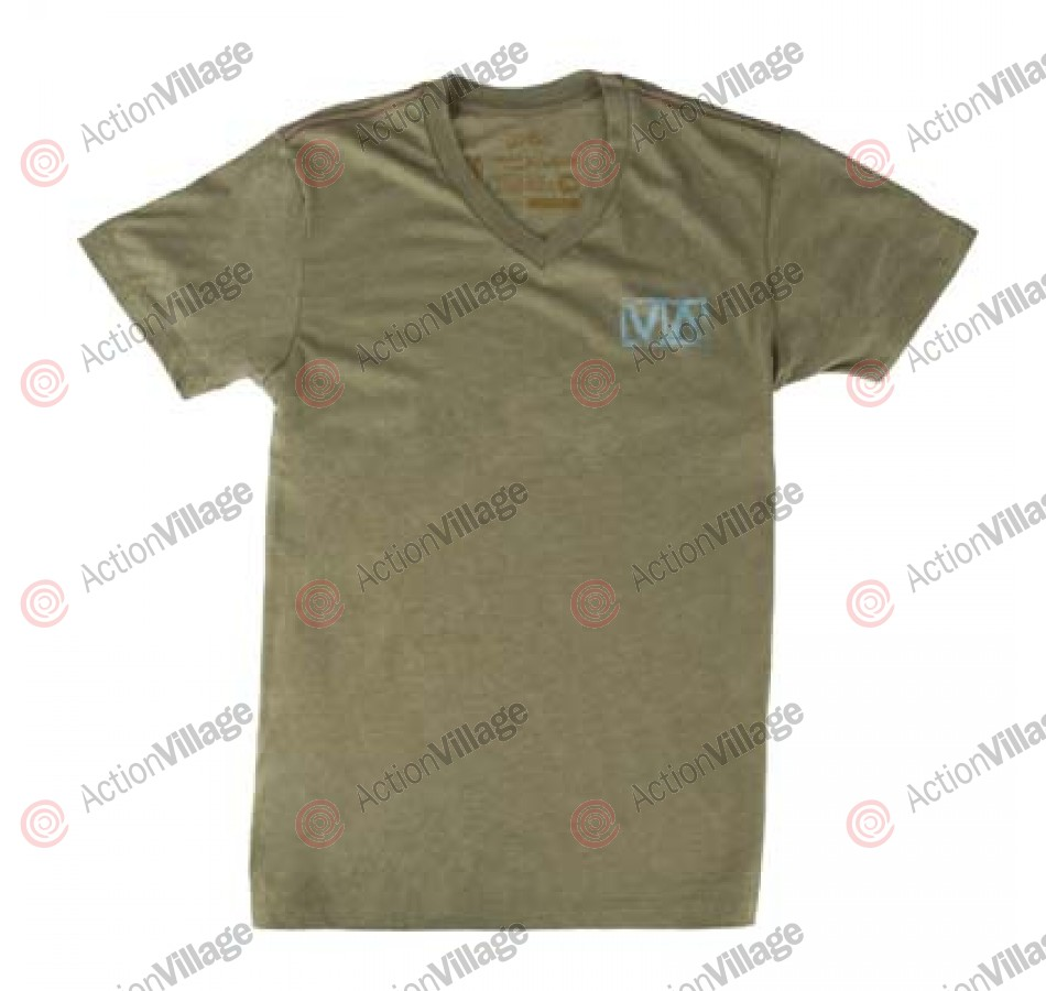 RVCA VA Stencil - Men's T-Shirt  Military Green