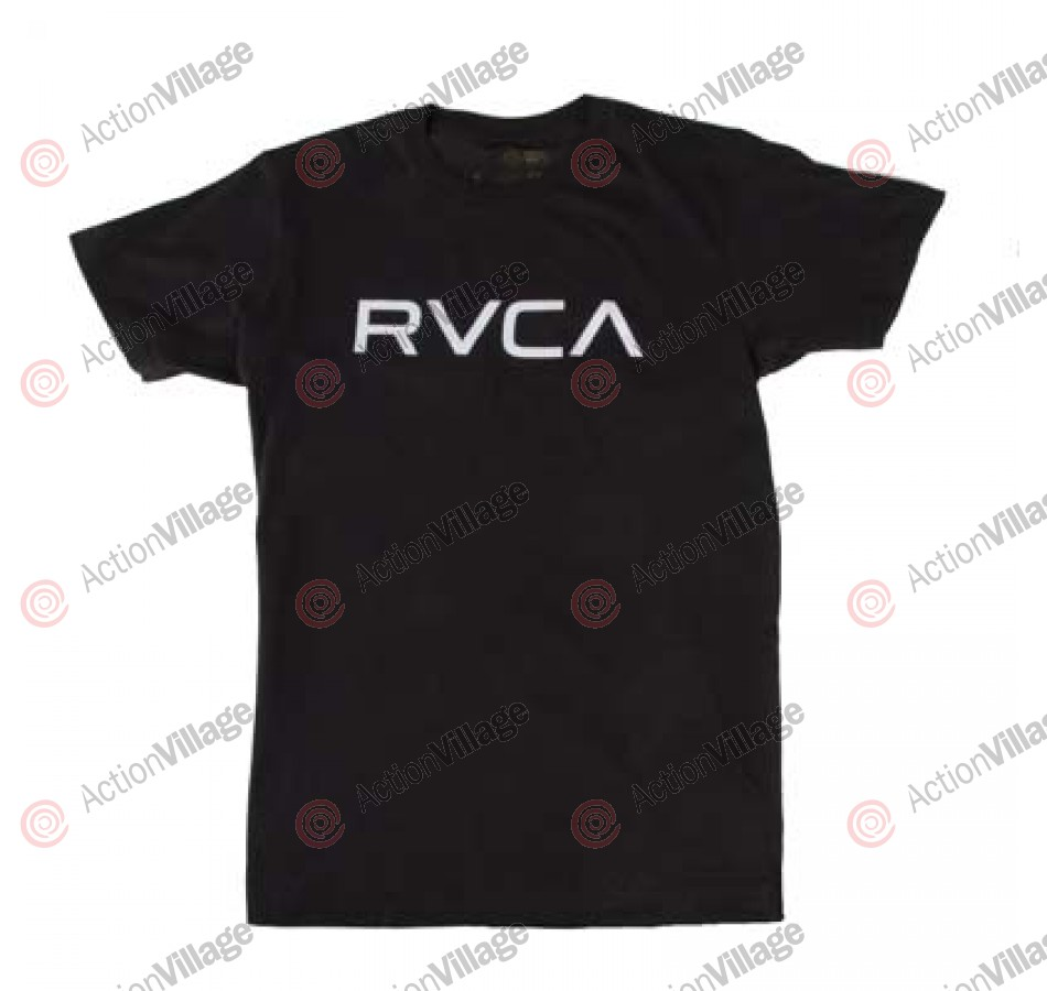 RVCA - Big RVCA - Men's T-Shirts - Black/ Grey