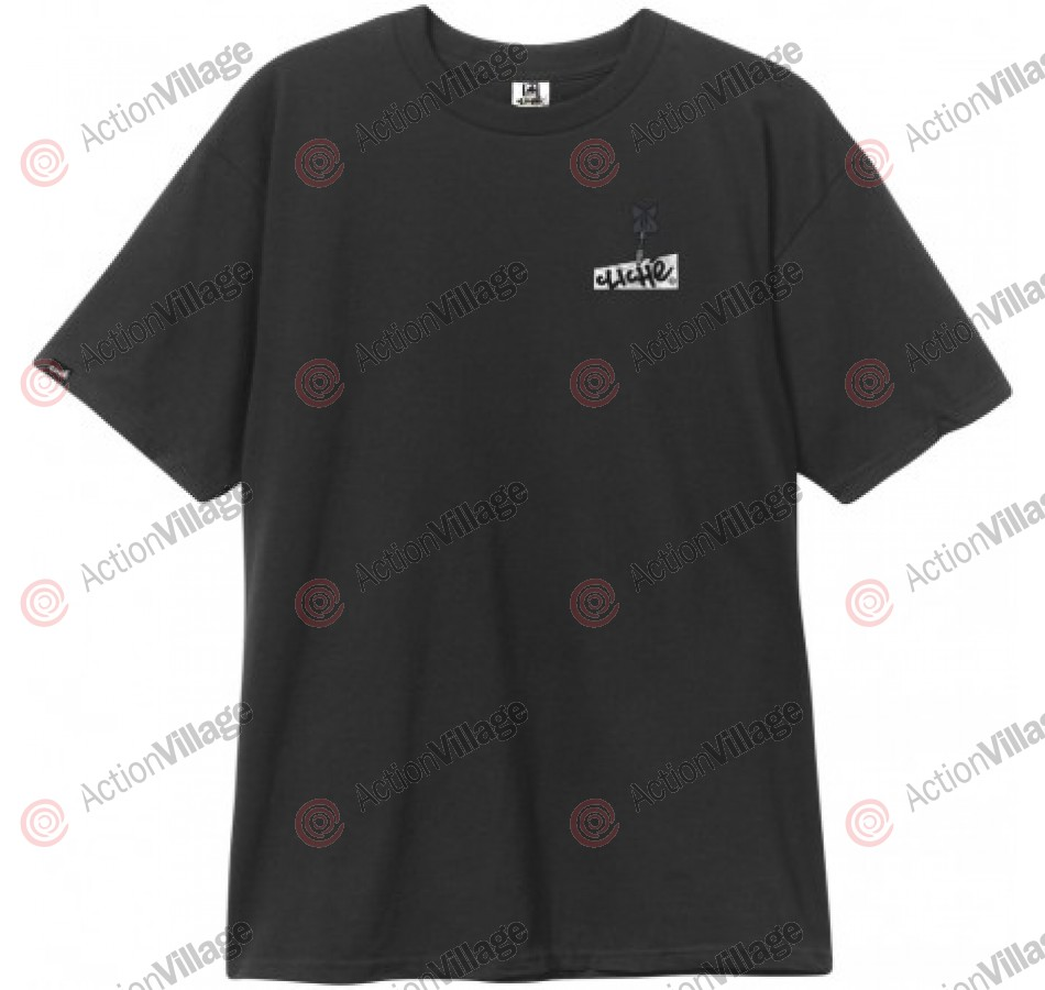 Cliche Bullseye Tee - Black - Men's T-Shirt