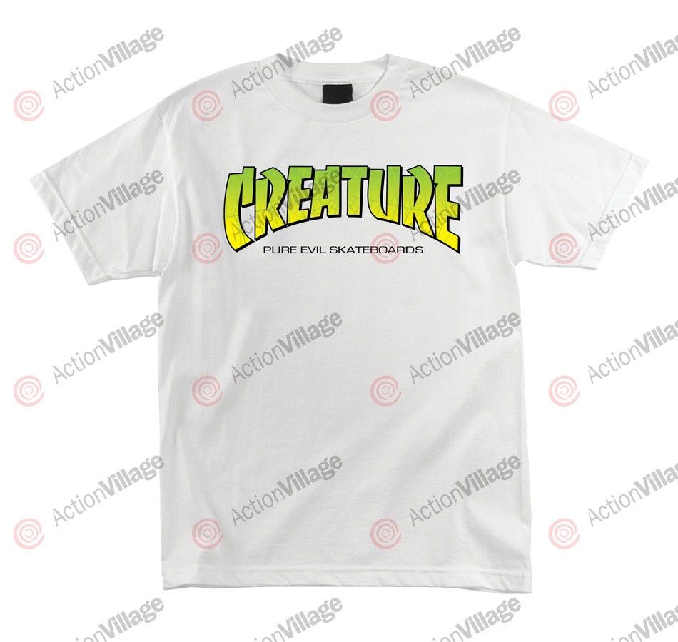 Creature The Bible Regular S/S - White - Mens T-Shirt