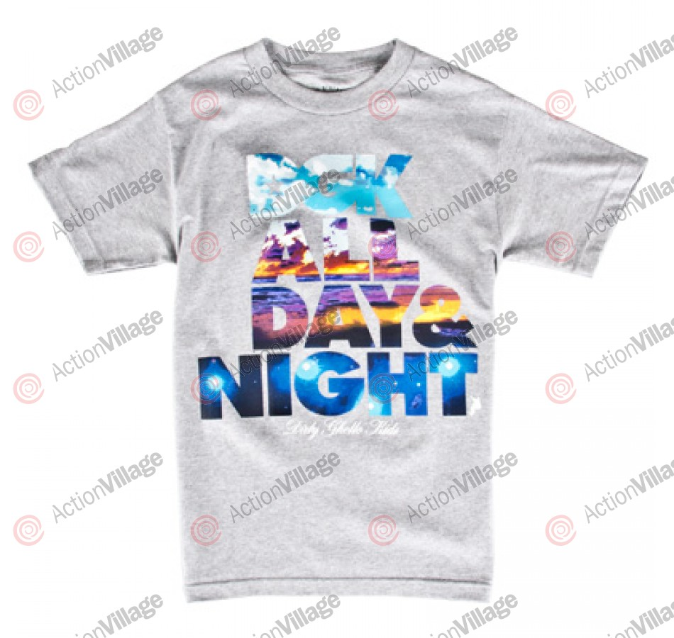 DGK Day And Night - Men's T-Shirt - Athletic Heather