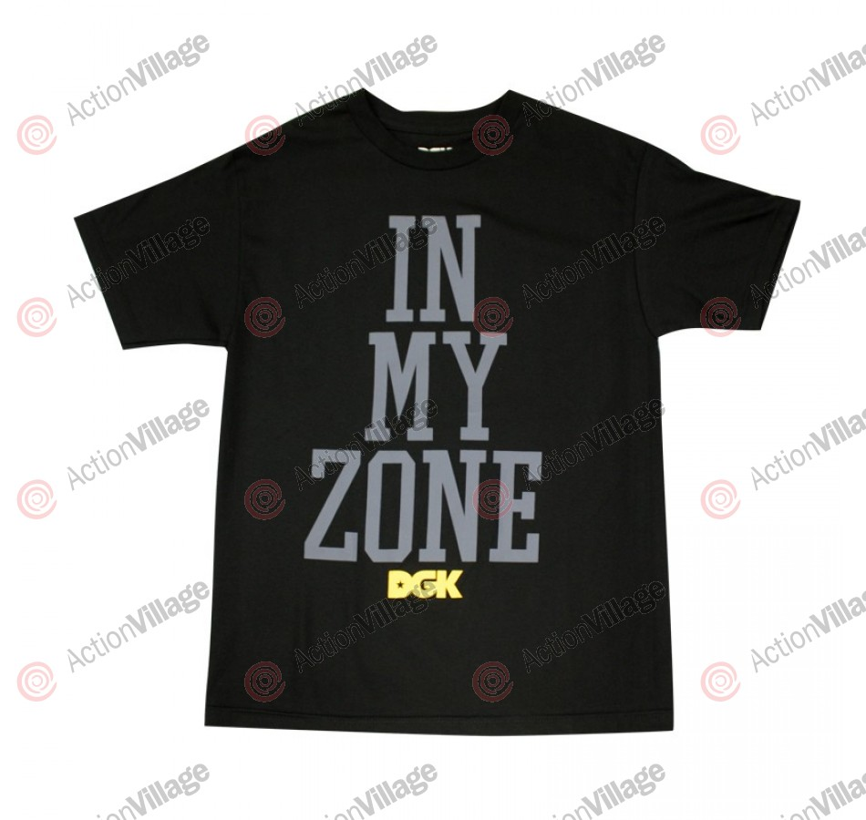 DGK T's In My Zone - Black - Men's T-Shirt - Medium