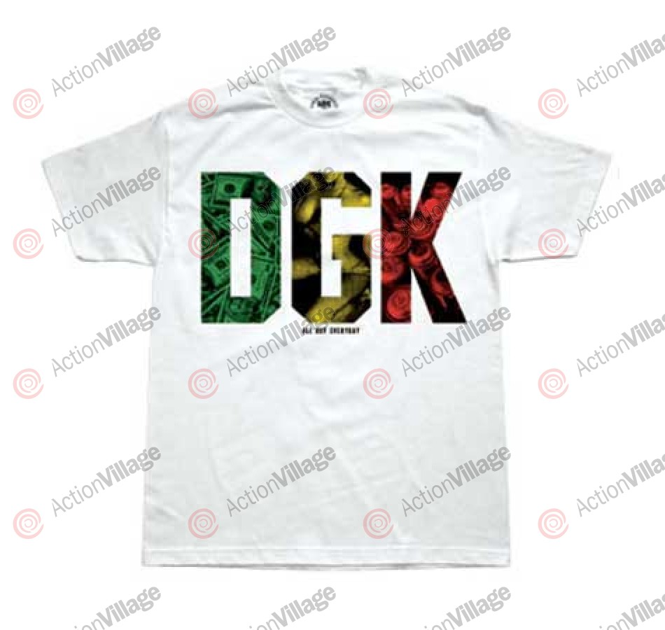 DGK T's Must Haves - White - Men's T-Shirt