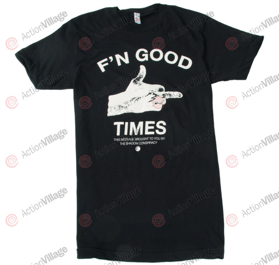 The Shadow Conspiracy F'n Good Times - Black - Men's T-Shirt
