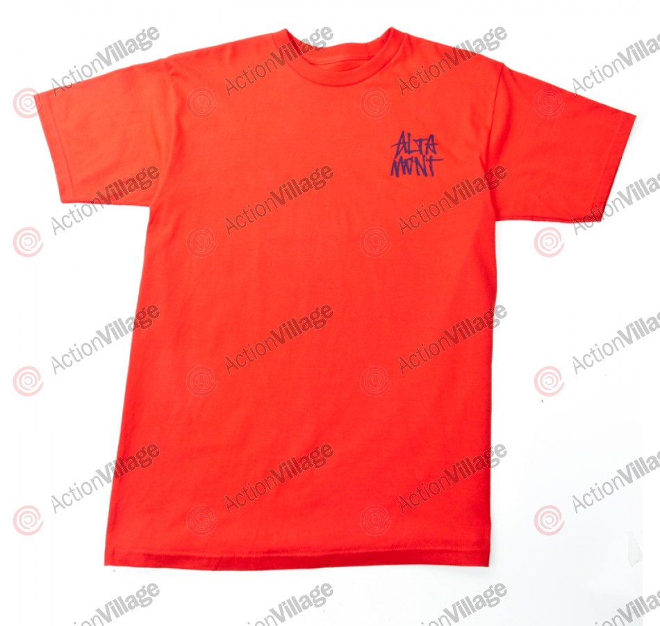 Altamont Apparel Short Stack - Red - Men's T-Shirt - XX Large
