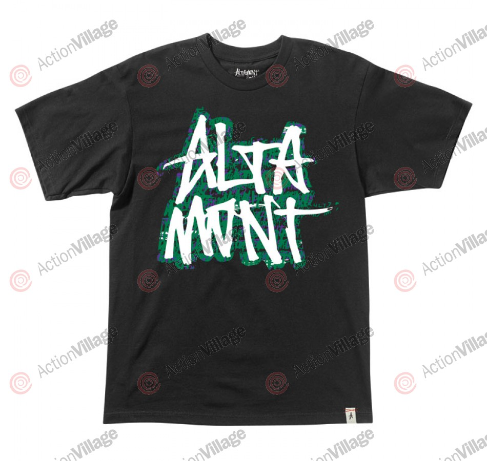 Altamont Unscribble - Black - Men's T-Shirt - Extra Large