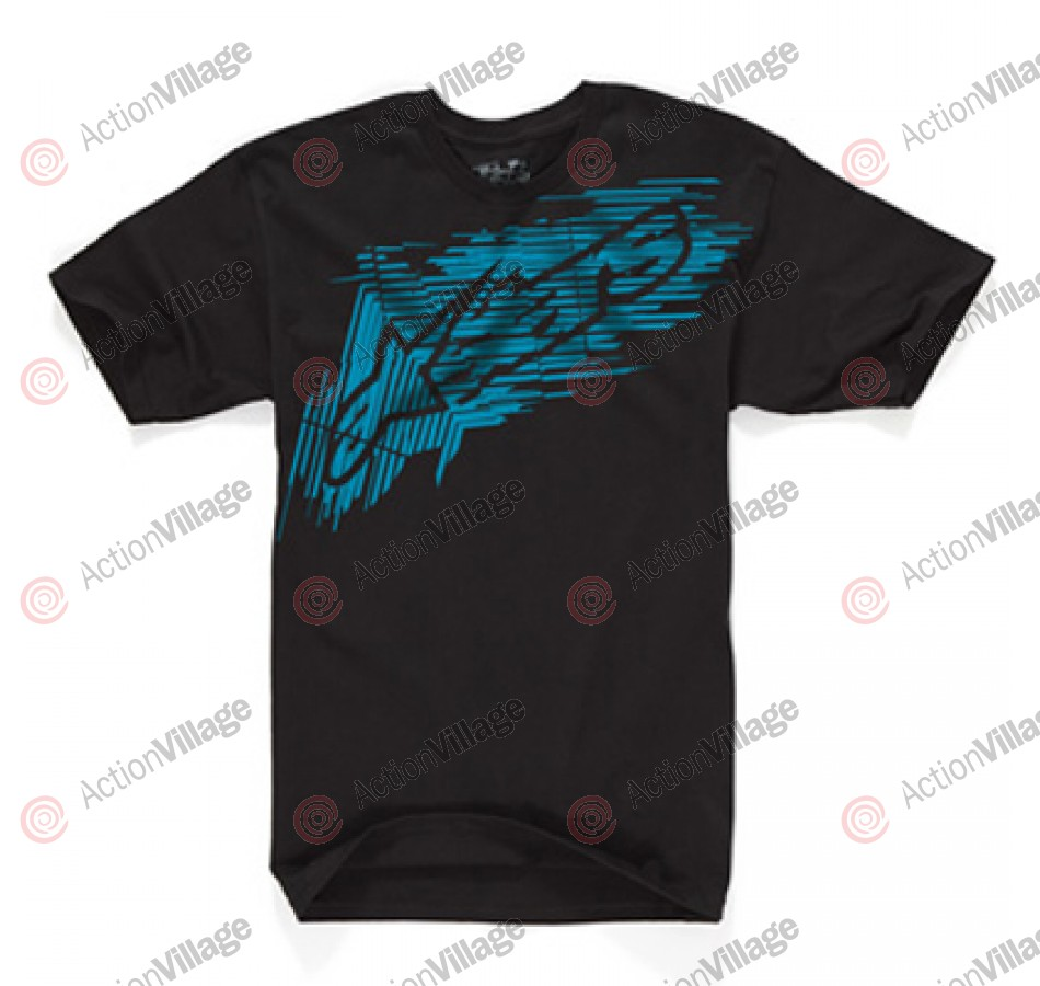 Alpinestars Throttle - Black - Mens T-Shirt