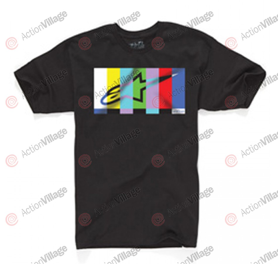 Alpinestars Colorbar - Black - Mens T-Shirt