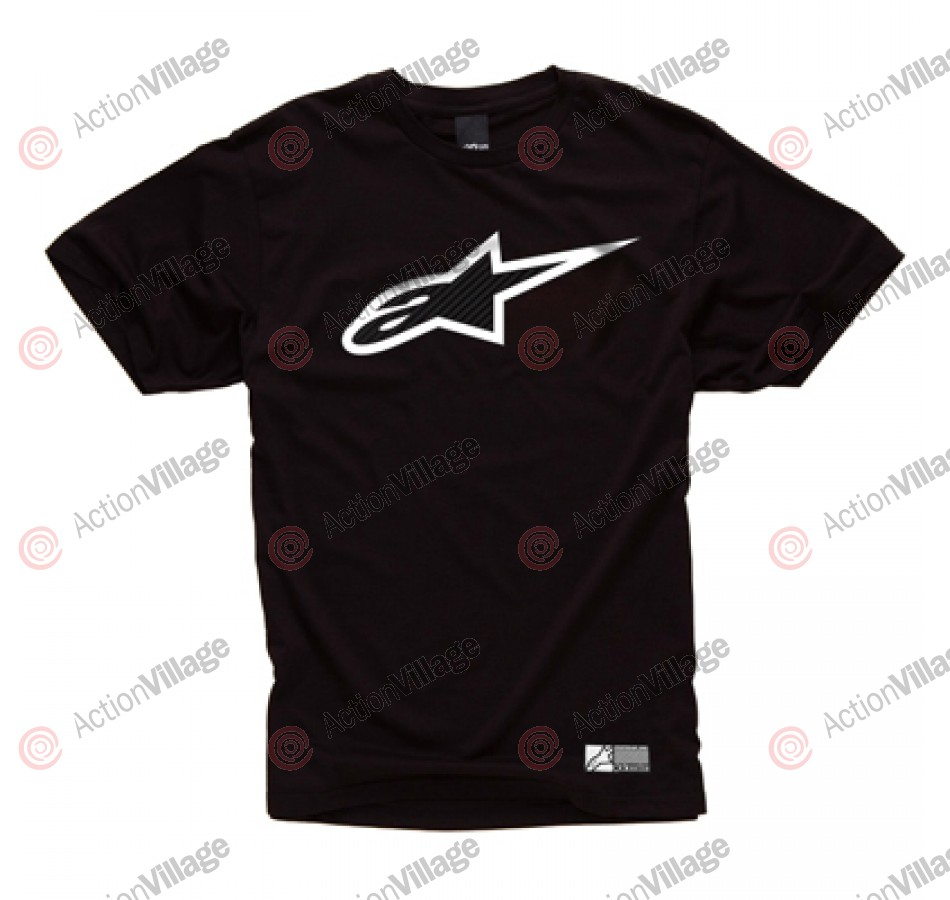 Alpinestars Carbon Fiber - Black - Mens T-Shirt