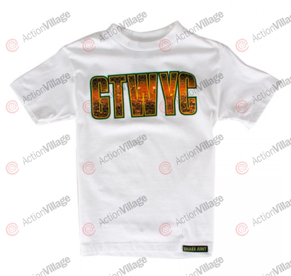 Shake Junt Skyline - White - T-Shirt