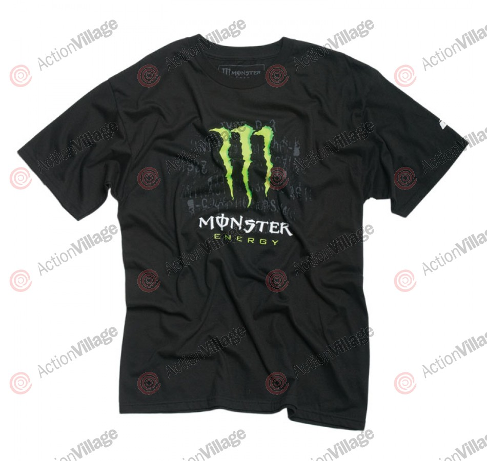 Monster Bust It - Black - Mens T-Shirt