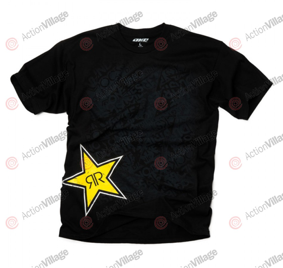 Rockstar Re-Up - Black - Mens T-Shirt