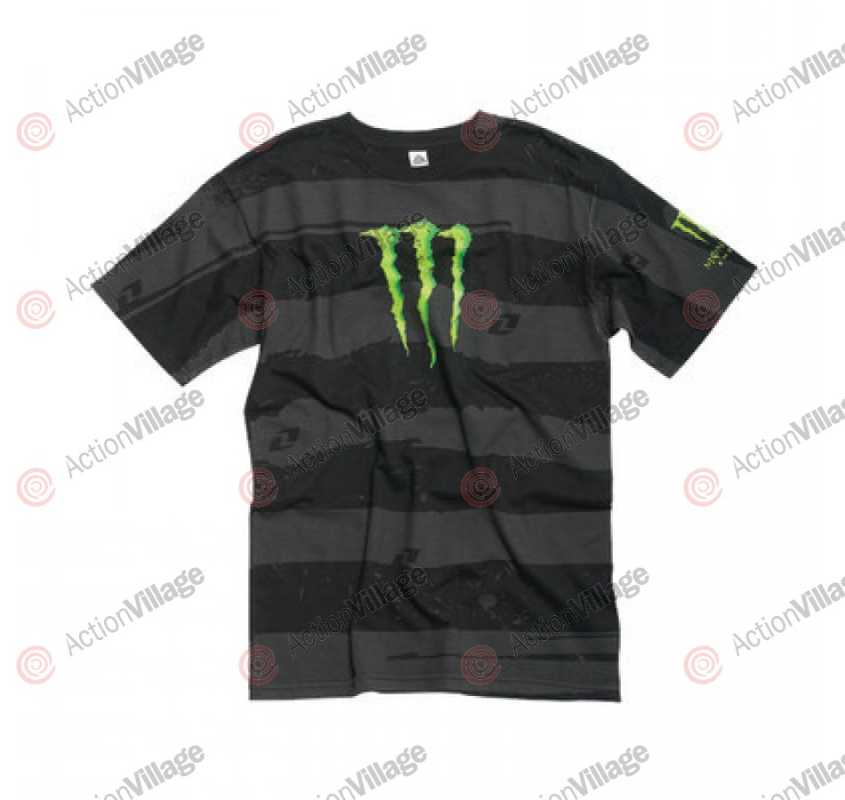 One Industries Monster Right Lane - Black/Grey - Mens T-Shirt
