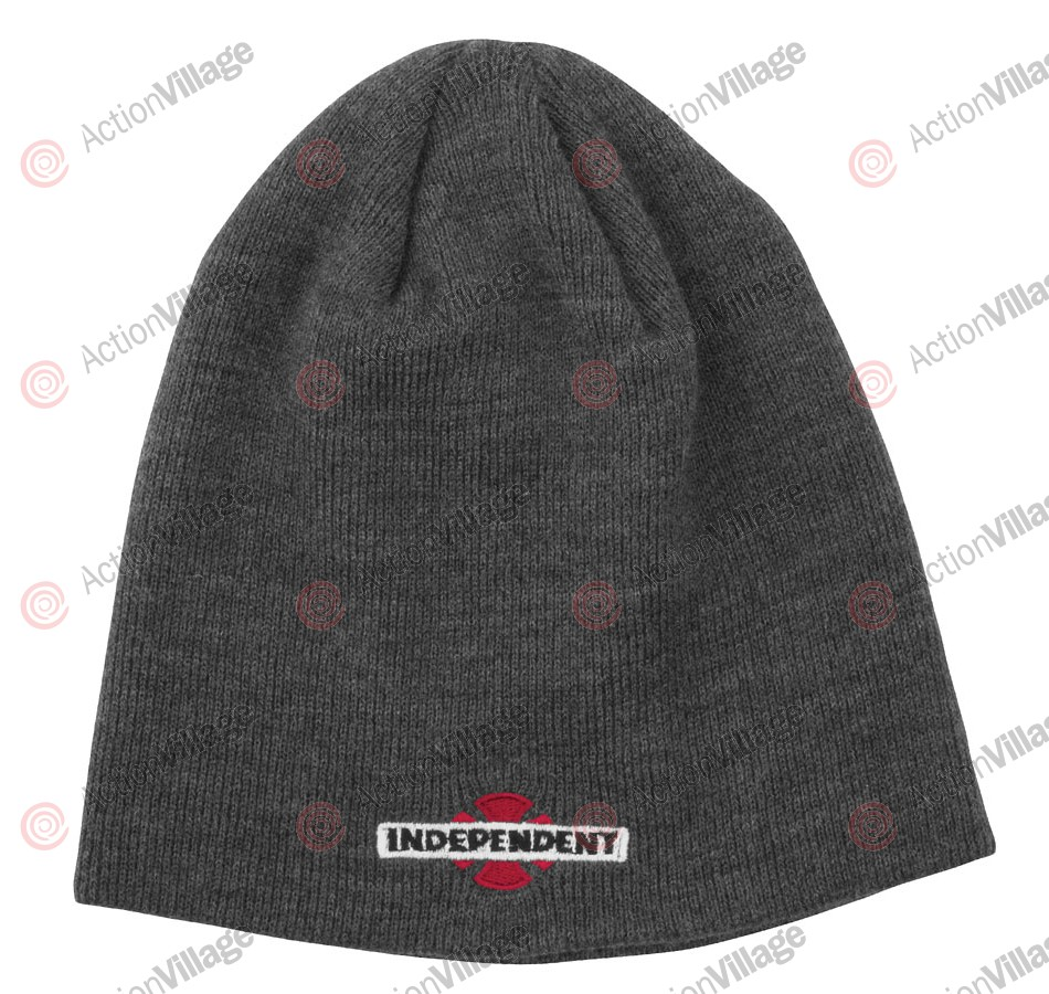 Independent 78 B/C Skull Cap - One Size Fits All - Grey - Men's Beanie