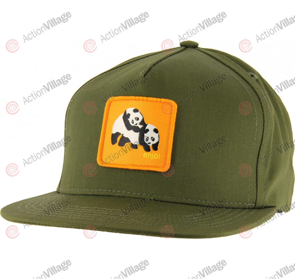 Enjoi Not Hump Truck Hat - Army - Mens Hat