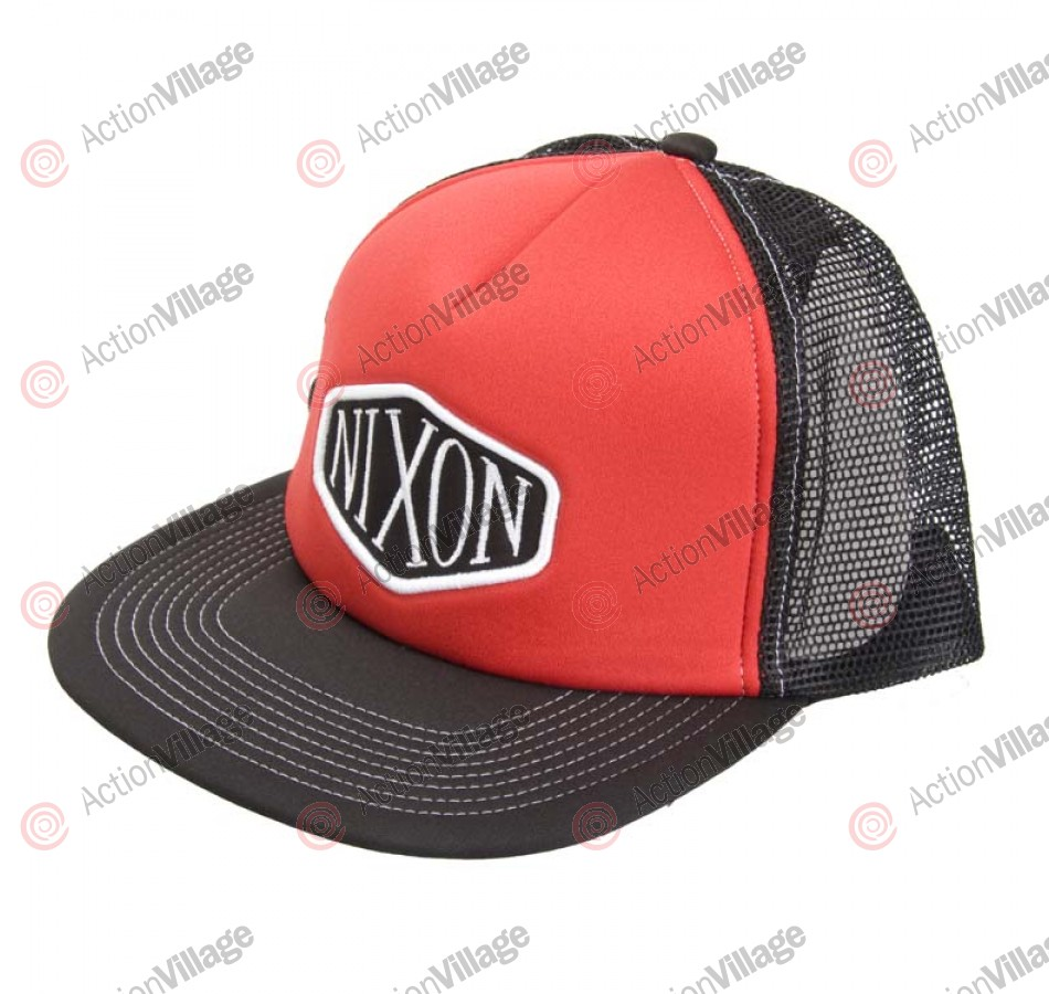 Nixon Gas Tank - Black / Red - Men's Hat