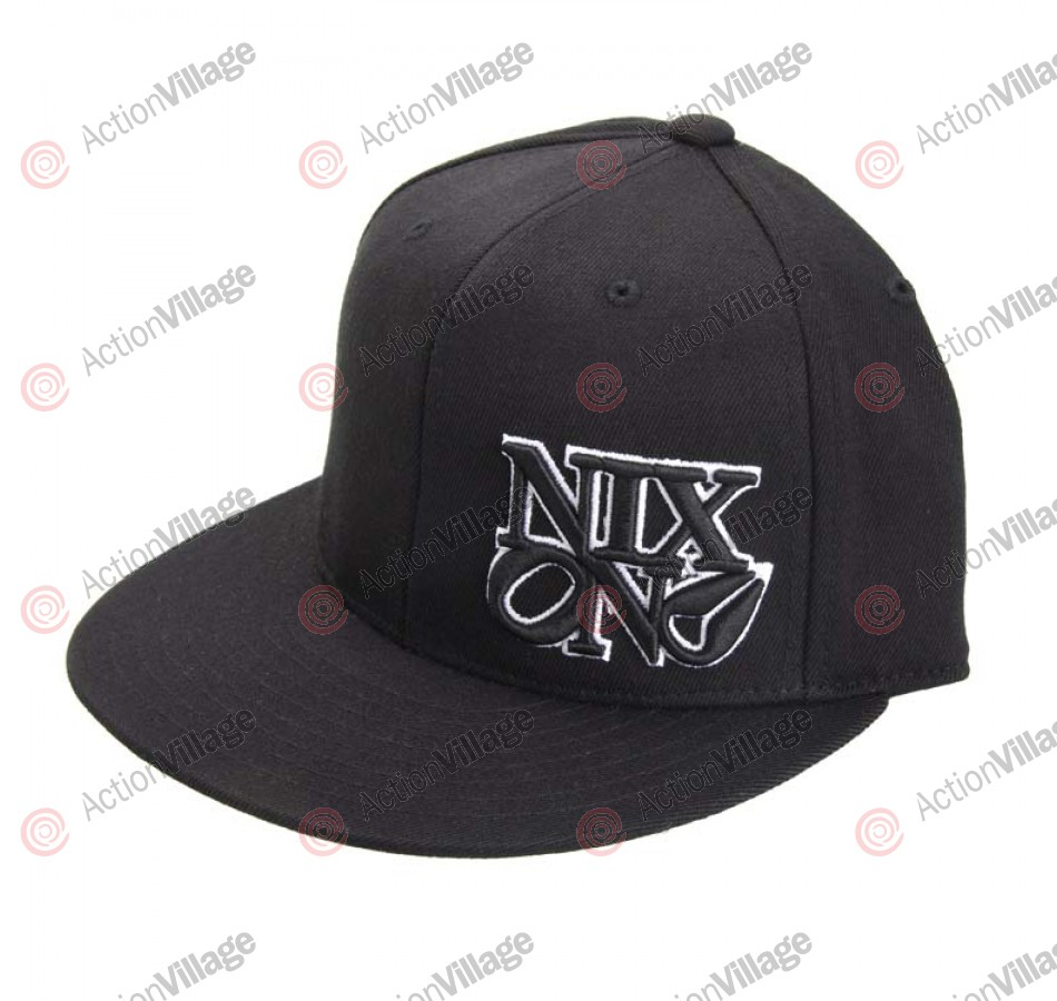 Nixon Philly - All Black - Men's Hat - 6 7/8 - 7 1/4