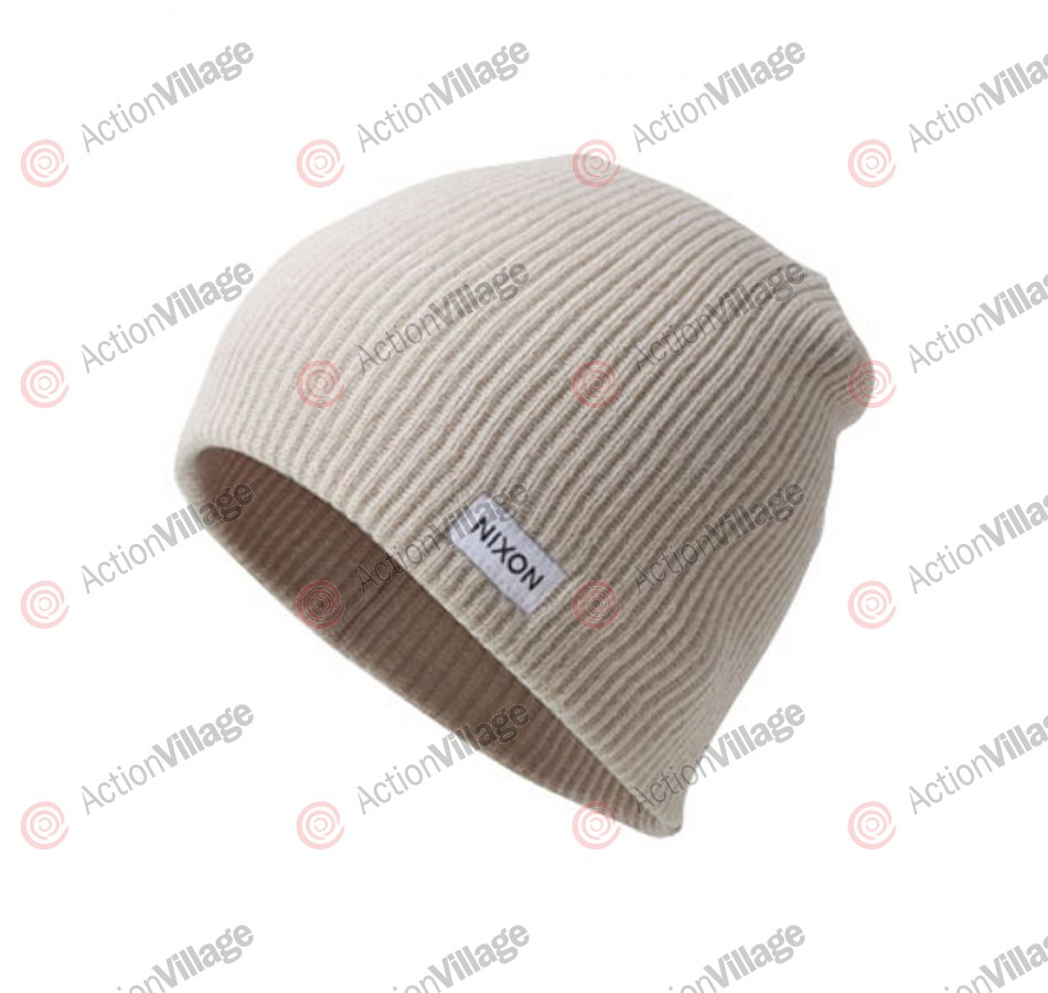 Nixon Compass - Bone - Men's Beanie
