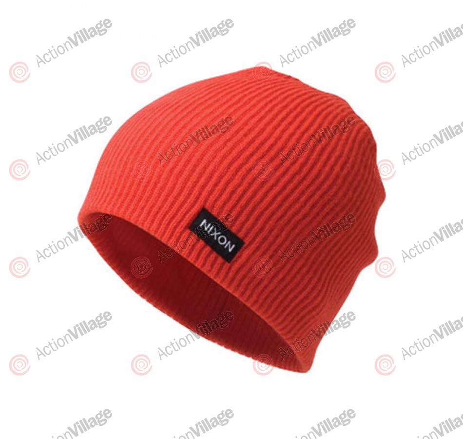 Nixon Compass - Red - Men's Beanie