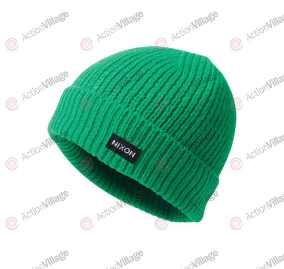 Nixon Regain - Green - Men's Beanie
