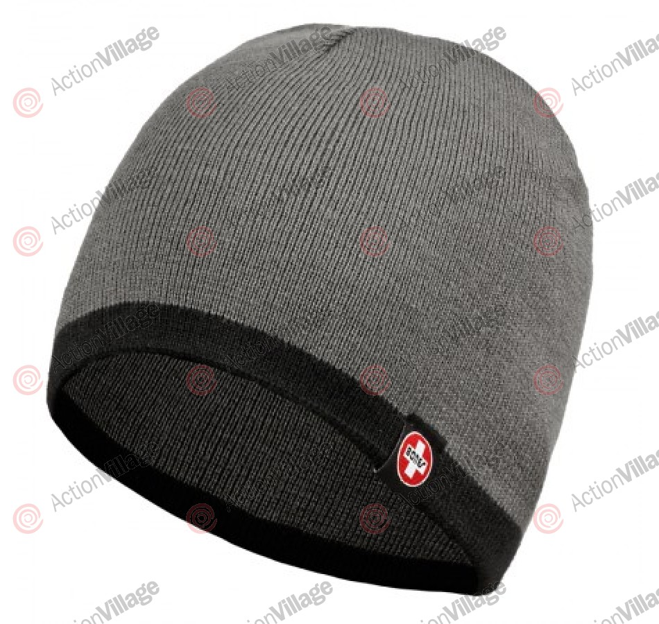Bones Bearings Swiss Knit - Charcoal/Black - Beanie